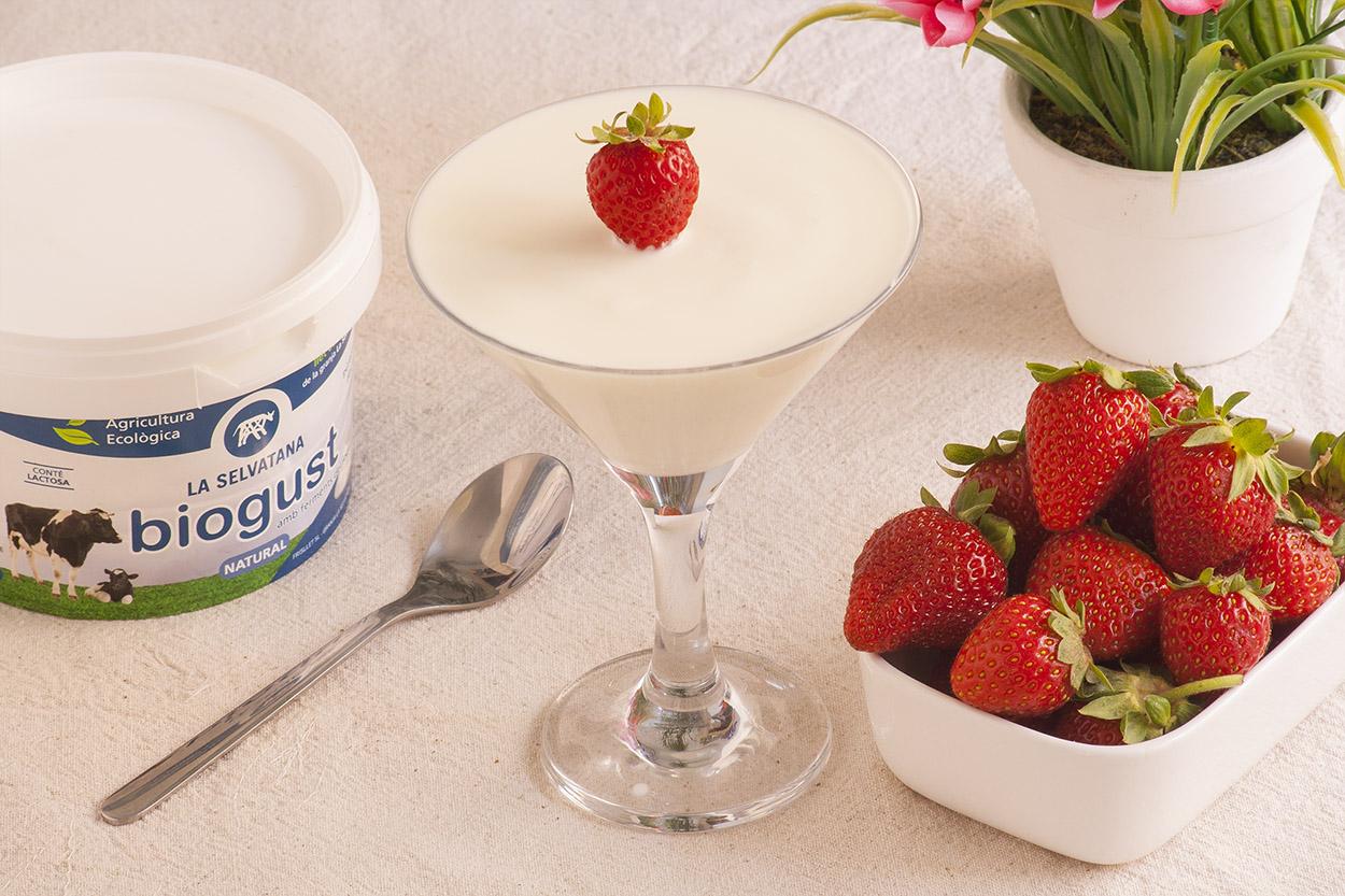 El biogust no és un iogurt, és una medicina deliciosa