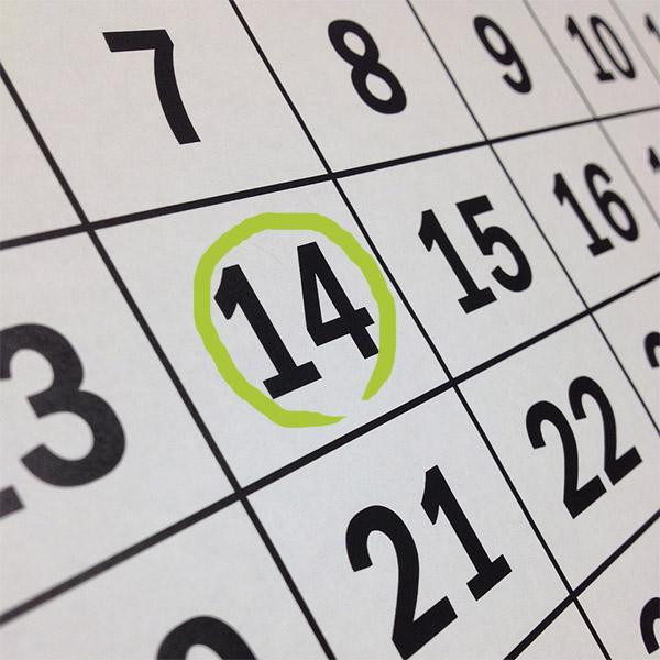 Calendari d'events de la granja la Selvatana