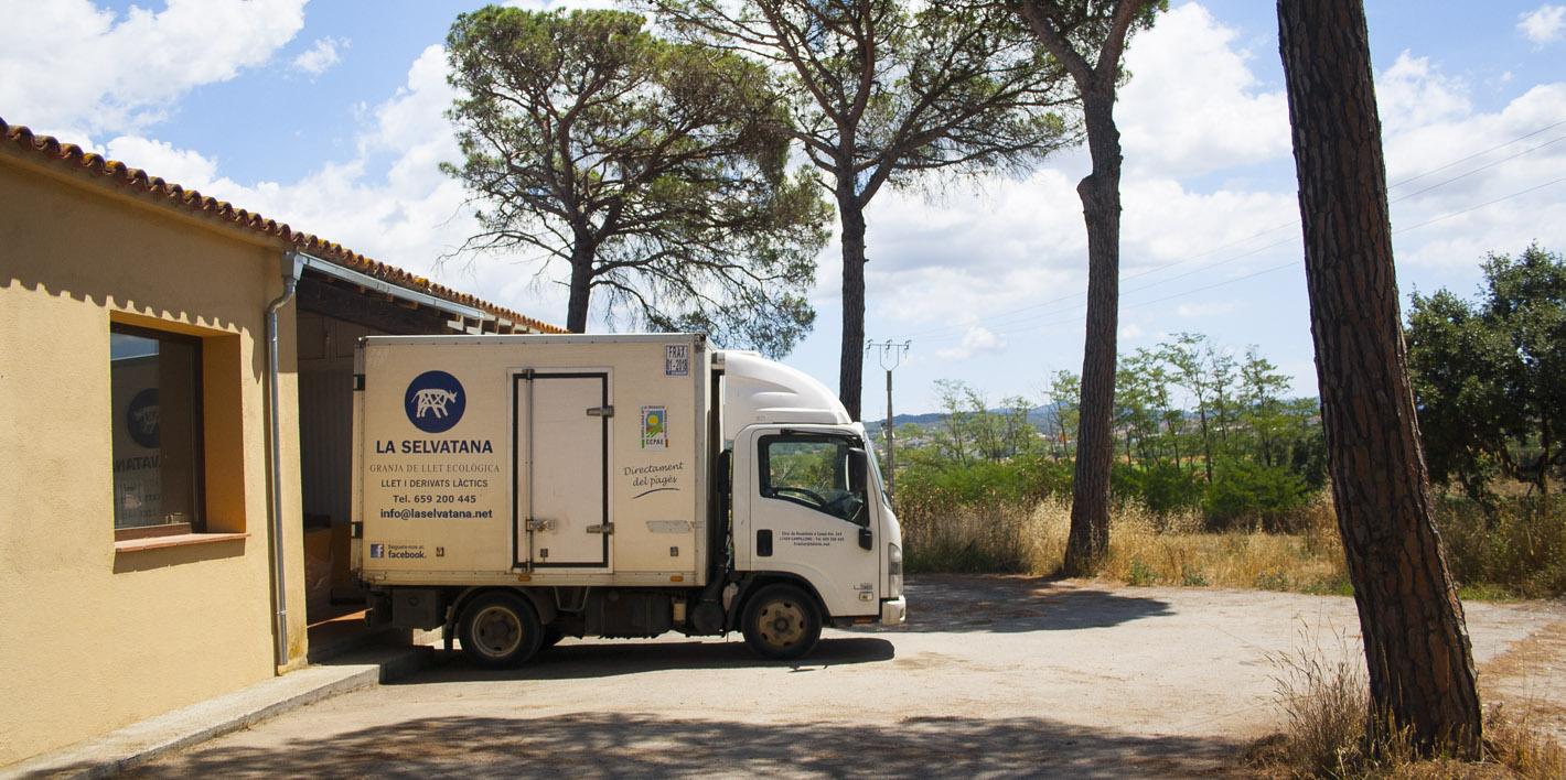 Fotografies fetes a les instal.lacions de la granja ecològica la Selvatana de Campllong, Girona